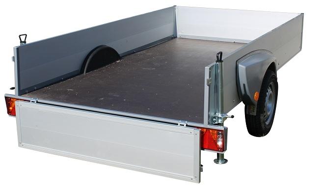 Carrelli per uso professionale o trasporti leggeri - Turatello rimorchi