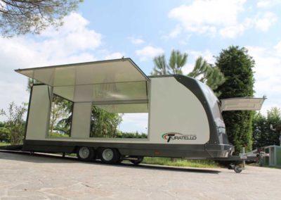 rimorchio furgonato trasporto auto F26 (2)