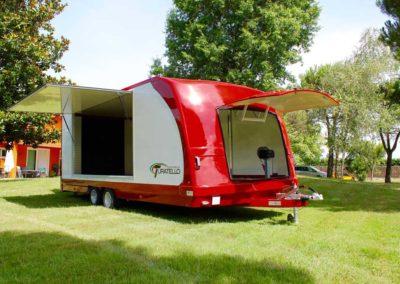 rimorchio furgonato trasporto auto F26 (5)
