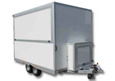 Food preparation trailers