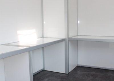 RImorchio cube xxl ufficio mobile interno