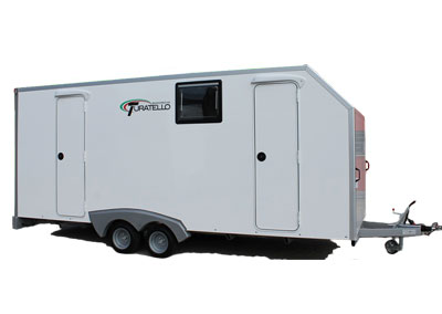 Trailers with Living Area