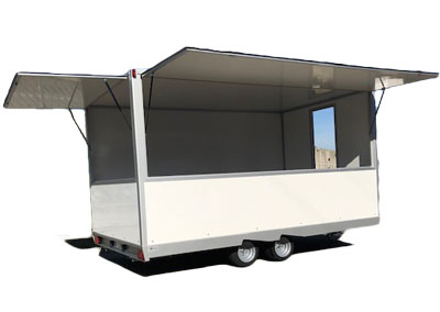 Trailers for Shop Food use